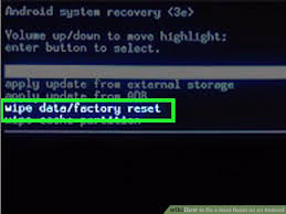 how to reset android how to do a reset on an android 14 steps with pictures