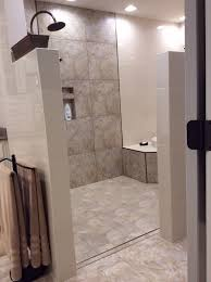 Small Bathroom Designs With Walk In Shower Walk In Shower And Tub Area No Door To Clean Loving It Bath