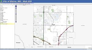 Minneapolis Metro Transit Map by Maps Data U0026 Links Blaine Mn