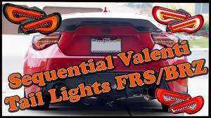 Valenti Lights Sequential Valenti Tail Light Comparison Sequential Vs Standard