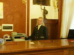 Front Desk Officer Front Desk Officer Dasha Picture Of Hotel General Prague