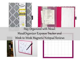 Mead Expense Tracker by Review Of Meadorganizer On The Go Expense Tracker And Week To Week
