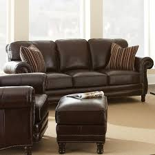chateau 3 piece leather sofa set antique chocolate brown dcg