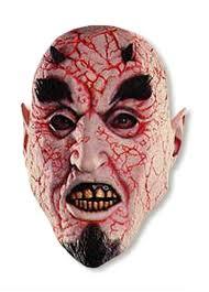 brimstone mask brimstone neon mask satan mask horror shop