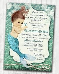 mermaid baby shower invitations mermaid baby shower invitation mermaid baby