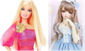 barbie doll ball jointed doll chula wired