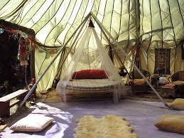 shaded mosquito net bed interior design ideas