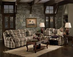 country livingrooms country living room checked sofa set designs decor crave