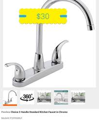 peerless kitchen faucet peerless choice 2 handle standard kitchen faucet in chrome build