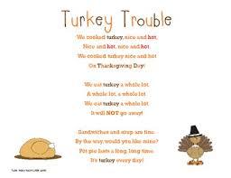 turkey trouble song by dennis teachers pay teachers