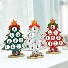 discount mini wood christmas trees 2017 mini wood christmas