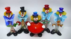 murano glass clowns collectibles coach