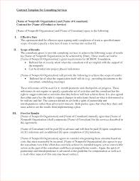 7 consultant contract templatereport template document report