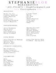 Artist Resume Sample by Beginner Makeup Artist 2016 Resume Sample Http Resumesdesign