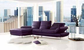 Purple Sectional Sofa Purple Leather Sectional Foter