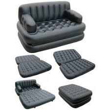 5 in 1 air sofa bed homeshop18 leatherete black air sofa rs 3200 piece tele home shop 18 id