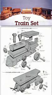 Plans For Wood Toy Trucks by Best 25 Wooden Toy Train Ideas On Pinterest Toy Trains Wooden