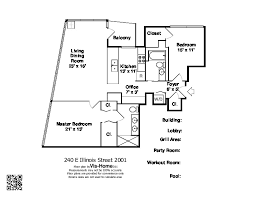 e floor plans 240 e illinois fairbanks at cityfront floorplans