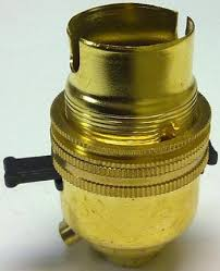 table l bulb holder with switch 3 009 13 brass switched push bar lholder 1 2 entry for table