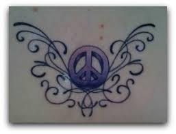 symbols for peace sign tattoos