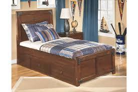 ashley storage bed delburne kids twin panel bed with storage ashley furniture homestore