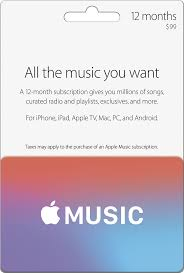 best nusical deals for black friday apple 12 months apple music subscription apple music 12mo