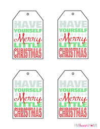 free printable yourself a merry