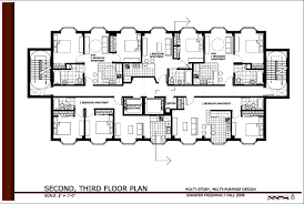 apartment building design plans and duplex house plans blueprints