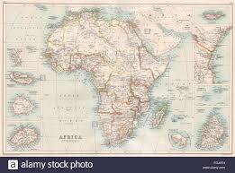 Seychelles Map Africa Islands Madeira St Helena Socotra Zanzibar Seychelles Stock