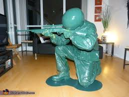Toy Soldier Halloween Costume Diy Bane Costume Photo 7 10