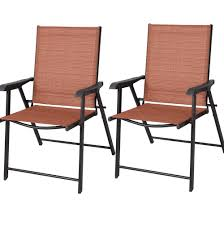 Mainstays Searcy Lane 6 Piece Padded Folding Patio Dining Set - patio amusing patio chairs walmart patio furniture home depot