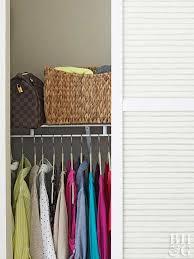 Wardrobe Organization Small Closet Organization