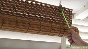 How To Cut Down Venetian Blinds How To Roll Up Blinds 14 Steps With Pictures Wikihow