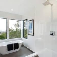 Modern White Bathroom - photos hgtv