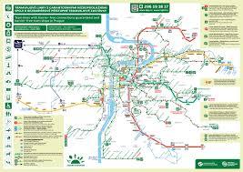 La Metro Map Pdf by Prague Metro Map In Pdf Weather In Prague Prague Guide Eu