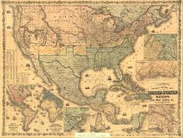 1600 Map Of America by Maps Civil War