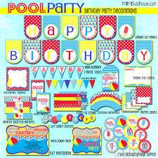 pool party amy atlas feature u0026 luke u0027s pool party birthdays