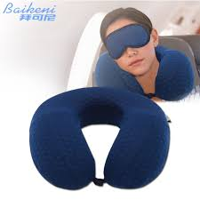 Neck Cusion U Shape Neck Pillow Memory Foam Travel Pillow Neck Support For