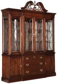 Antique Breakfront China Cabinet by Kincaid Furniture Carriage House Breakfront China Cabinet Ahfa