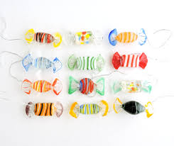 vintage murano glass pieces lot of 12 colorful glass bon