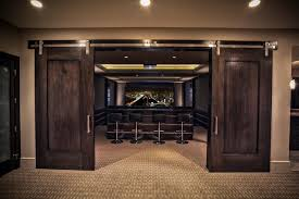 Theatre Room Design - holladay residence contemporary home theater salt lake city