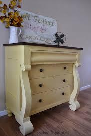 Painting Furniture White by Helen Nichole Designs Empire Dresser In White Raisin