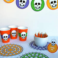 Halloween Skeleton Decoration Printable by Halloween Archives Merriment Design