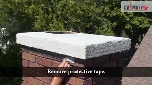 chimney rx brushable crown repair video youtube