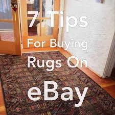 buying rugs 7 tips for buying rugs on ebay house west