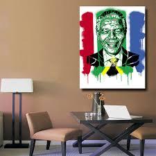 Graffiti Art Home Decor Mandela Art Prints Promotion Shop For Promotional Mandela Art