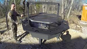 fire pit topper 7 u0027 santa maria cowboy fire pit youtube