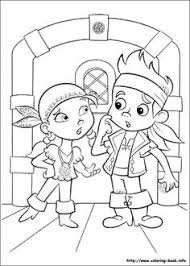 jake land pirates coloring pages captain hook smee