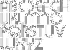 design lines font myfonts bauhaus typefaces