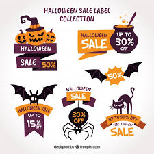 Halloween Sale Halloween Sale Pack Vector Free Download